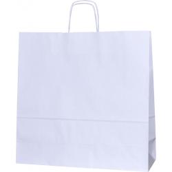 Torba papierowa 40x14x40 biała