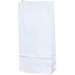 Torba papierowa - PN2 - 75x45x185 mm biała