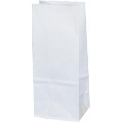 Torba papierowa - PN3 - 80x65x195 mm biała
