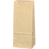 Torba papierowa - PN3- 80x65x195 mm brązowa