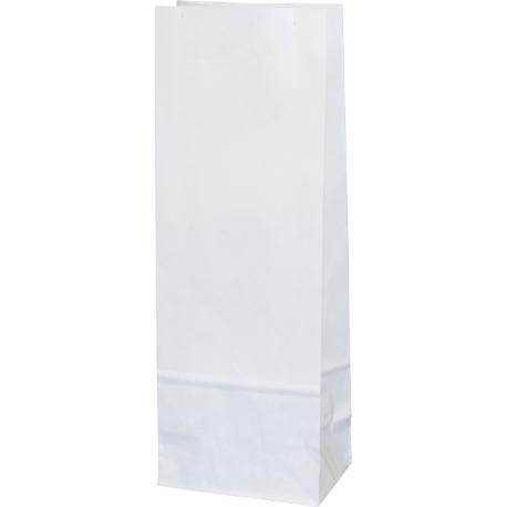 Torba papierowa - PN5 - 100x70x260 mm biała