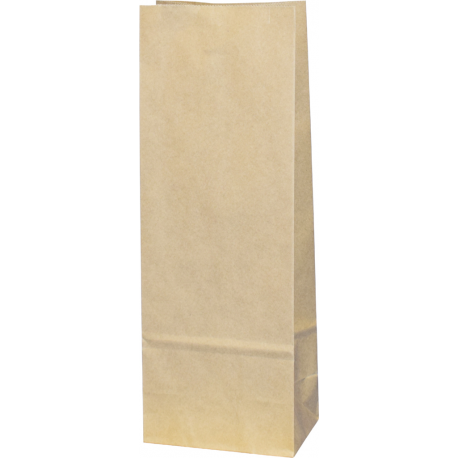 Torba papierowa - PN5 - 100x70x260 mm brązowa