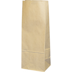 Torba papierowa - PN7 - 120x95x325 mm brązowa