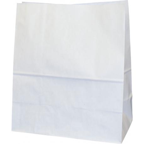 """Torba papierowa 26x14x30 biała """"LARGE"""""""