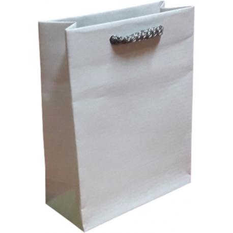 Torba papierowa 11x5x14 biała