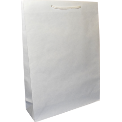 Torba papierowa 30x9x40 biała