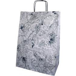 """Torba papierowa 305x170x425 mm """"kwiaty"""""""