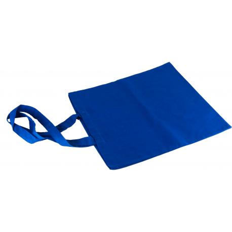Torba 38x42 cm z długim uchwytem - niebieski