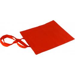 Torba 38x42 cm z długim uchwytem - czerwony